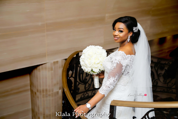 Nigerian Bride The Fadinas Bridal Party Klala Photography LoveWeddingsNG