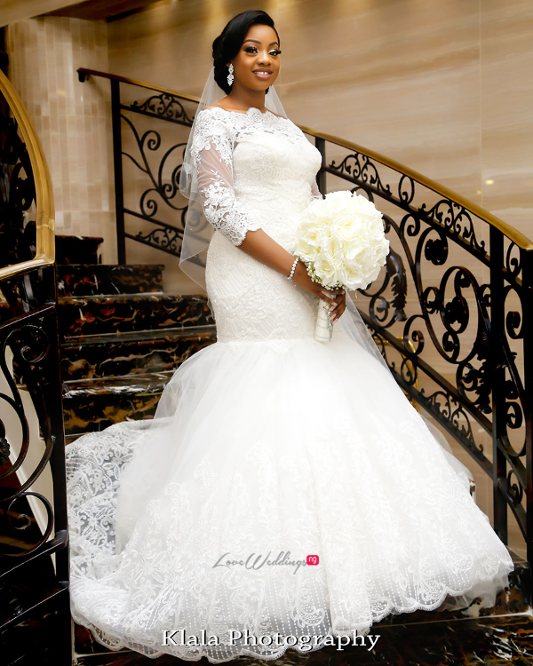 Nigerian Bride The Fadinas Klala Photography LoveWeddingsNG