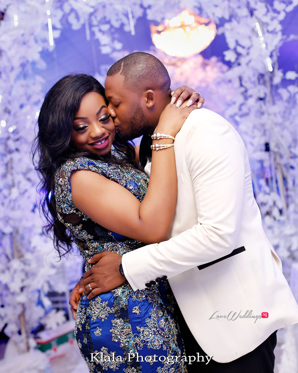 Nigerian Bride and Groom Reception The Fadinas Klala Photography LoveWeddingsNG