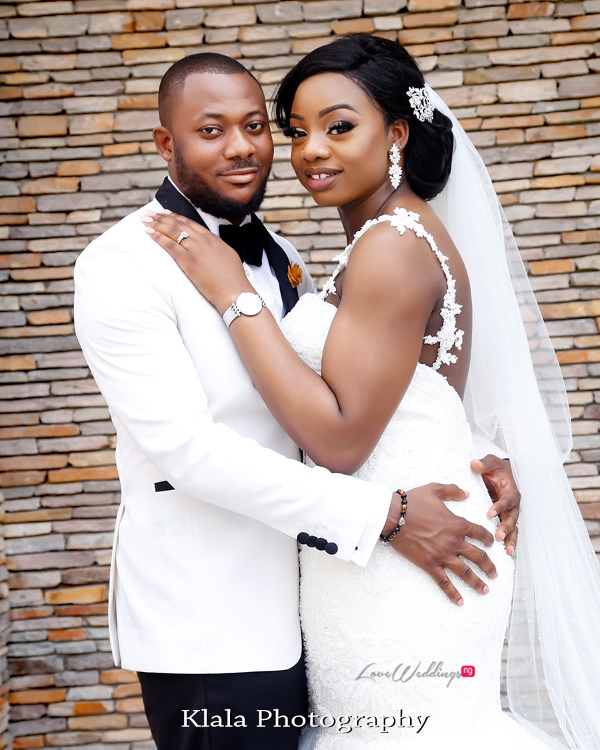 Nigerian Bride and Groom The Fadinas Bridal Party Klala Photography LoveWeddingsNG 1