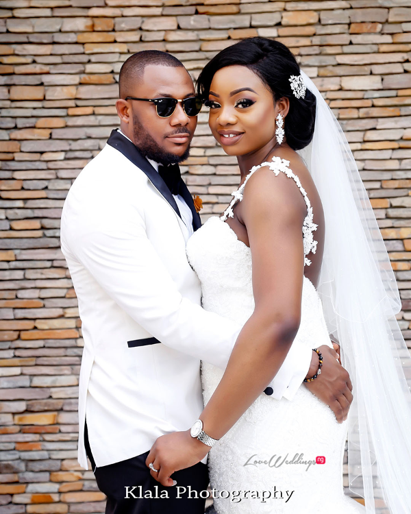 Nigerian Bride and Groom The Fadinas Bridal Party Klala Photography LoveWeddingsNG 2
