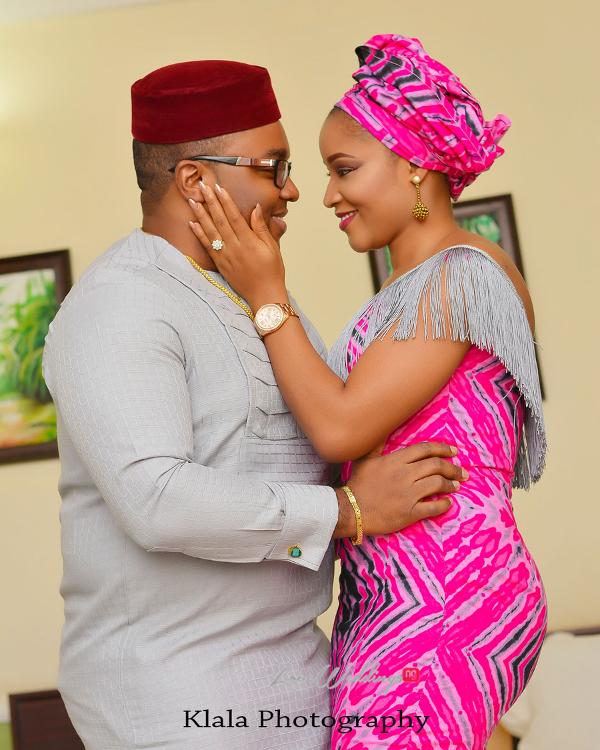 Nigerian Bride and groom Ifeyinwa and Chidi Traditional Wedding Klala Photography LoveWeddingsNG 2