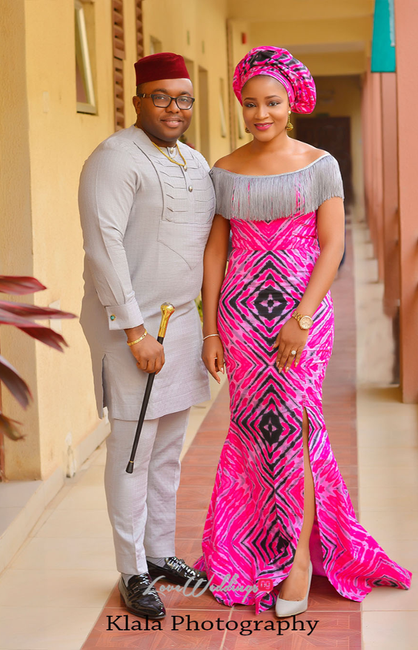 Nigerian Bride and groom Ifeyinwa and Chidi Traditional Wedding Klala Photography LoveWeddingsNG