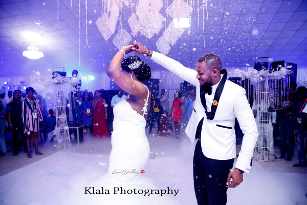 Nigerian Couple First Dance The Fadinas Bridal Party Klala Photography LoveWeddingsNG