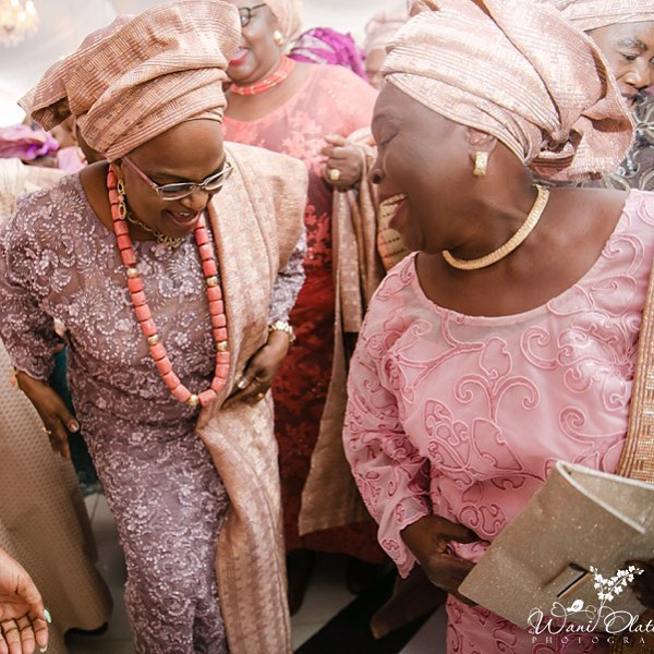 Nigerian Mum and friend LoveWeddingsNG