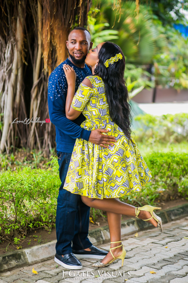 Nigerian PreWedding Yetunde and Olatunde Tessallure Events LoveWeddingsNG 12