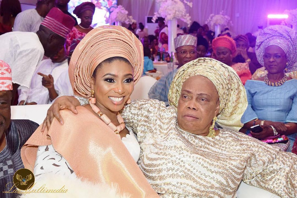 Nigerian Traditional Bride and Mother in Law LoveWeddingsNG