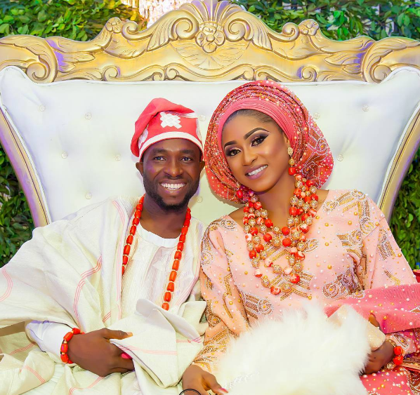 Nigerian Traditional Couple Sope and Patrick Mayonikks Photography LoveWeddingsNG 1