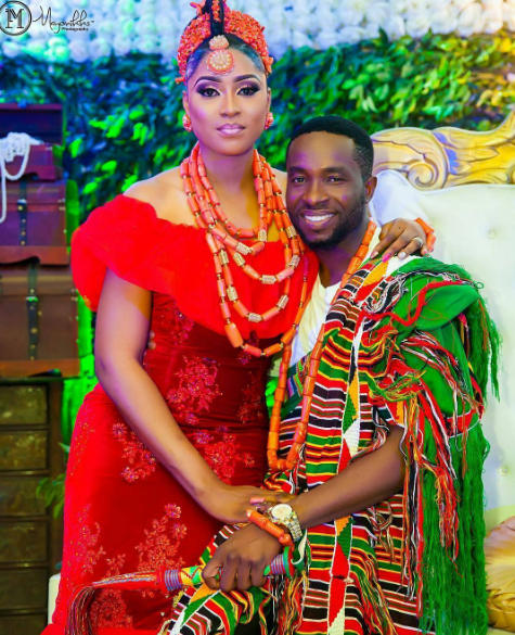 Nigerian Traditional Couple Sope and Patrick Mayonikks Photography LoveWeddingsNG