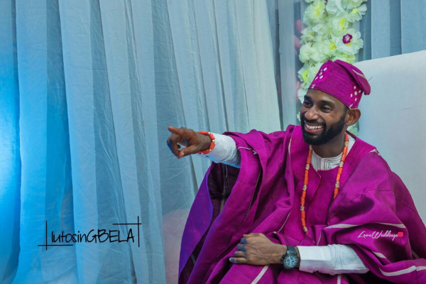 Nigerian Traditional Groom Adetola Adeleke and Olapemi Awolola LoveWeddingsNG
