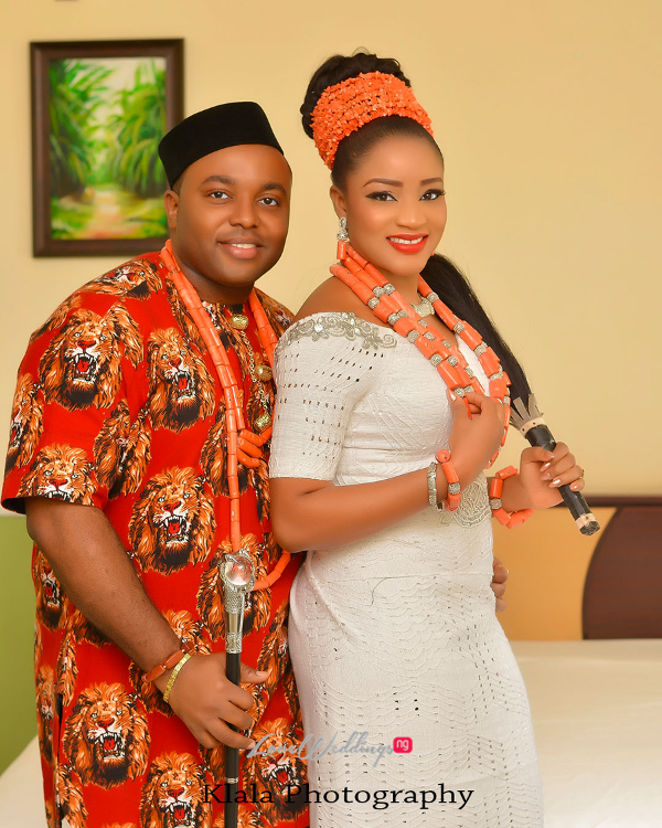 Nigerian Traditional Igbo Bride and Groom Ifeyinwa and Chidi Klala Photography LoveWeddingsNG