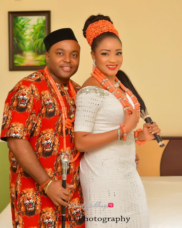 Igbo Nigerian Wedding: Nigerian Traditional Igbo Bride And Groom Ifeyinwa And