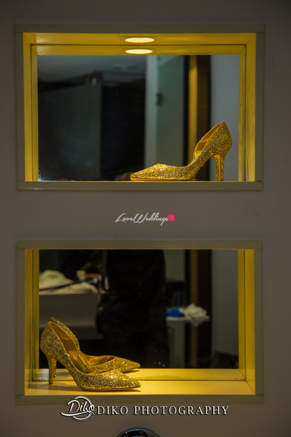 Nigerian Tradtional Bridal Shoes Omolade and Adekunle Diko Photography LoveWeddingsNG