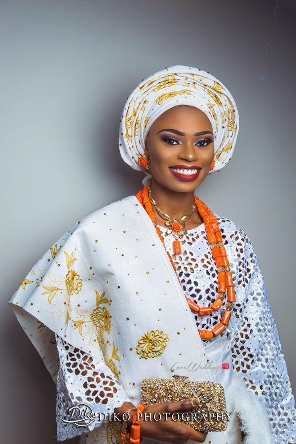 Nigerian Tradtional Bride Omolade and Adekunle Diko Photography LoveWeddingsNG 2