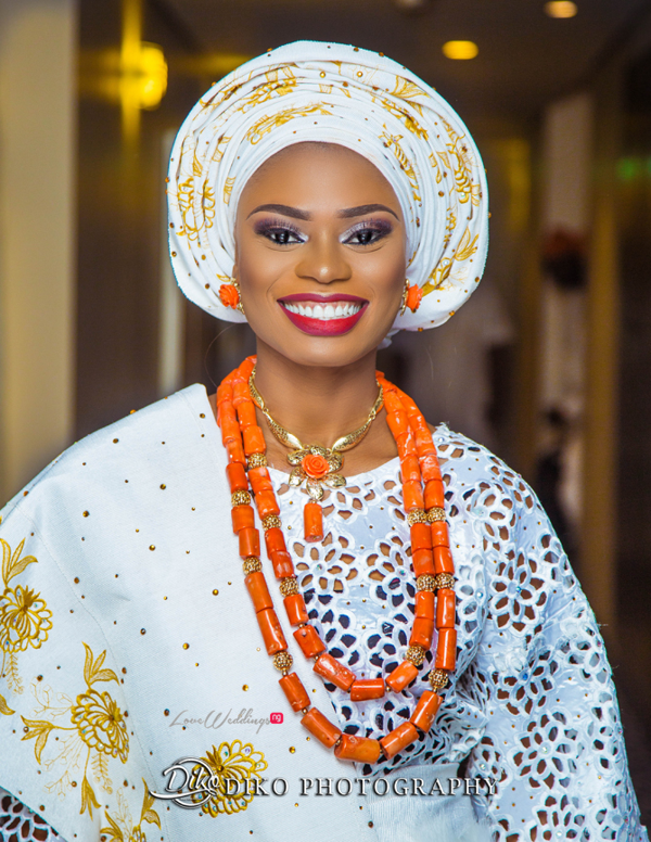 Nigerian Tradtional Bride Omolade and Adekunle Diko Photography LoveWeddingsNG 3