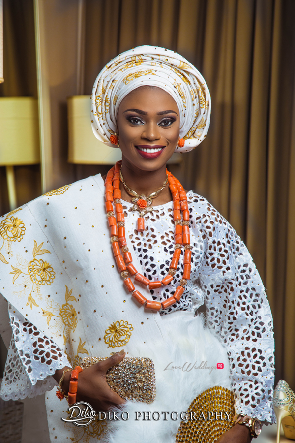 Nigerian Tradtional Bride Omolade and Adekunle Diko Photography LoveWeddingsNG