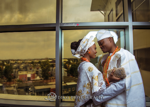 Nigerian Tradtional Bride and Groom Omolade and Adekunle Diko Photography LoveWeddingsNG 1