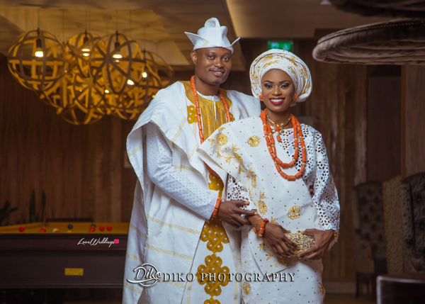 Nigerian Tradtional Bride and Groom Omolade and Adekunle Diko Photography LoveWeddingsNG 3