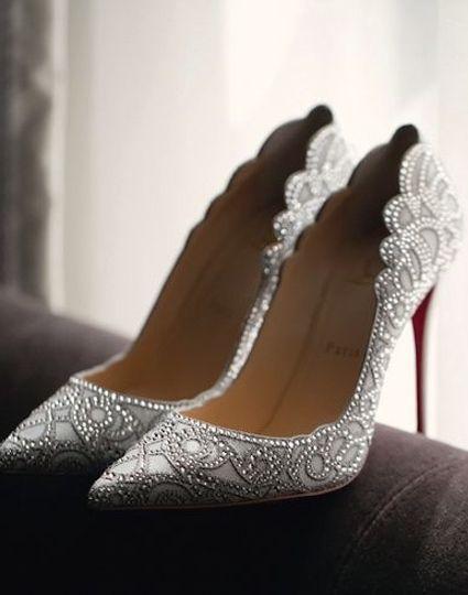 Nigerian Wedding Bridal Shoes Louboutin LoveWeddingsNG 1