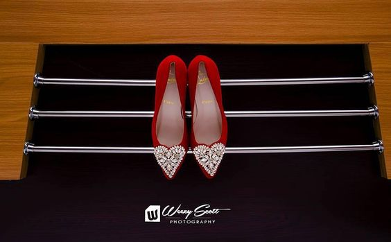 Nigerian Wedding Bridal Shoes Louboutin LoveWeddingsNG