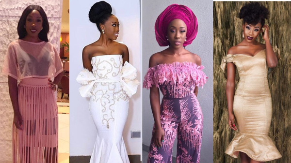 Nollywood actress, Beverly Naya's wedding-worthy style diary