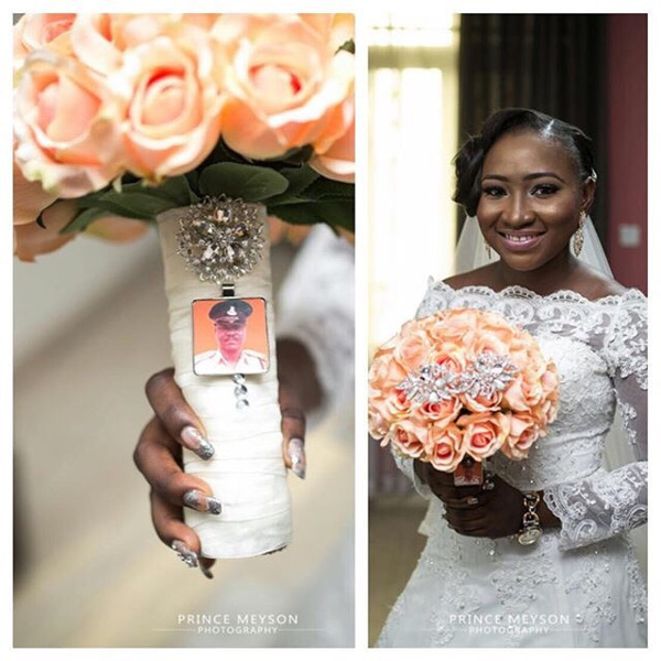 Nigerian Wedding Remember a lost one LoveWeddingsNG