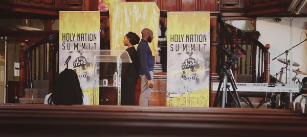 Onos proposed at the Holy Nation Summit | BridgeWeddings