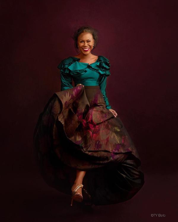 Tara Fela Durotoye 40th birthay shoot TY Bello LoveWeddingsNG 2