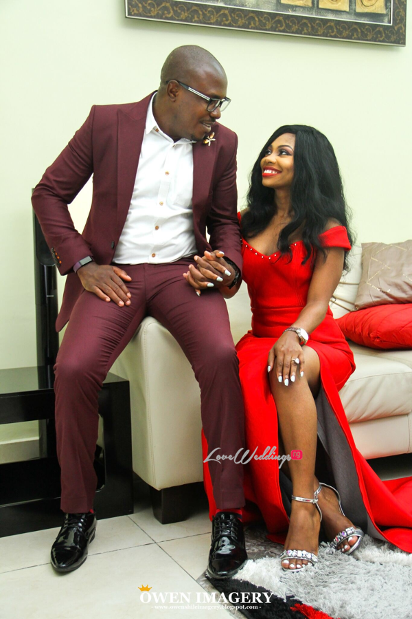 Celestine Ovia and Nancy Charles Nigerian PreWedding LoveWeddingsNG 1