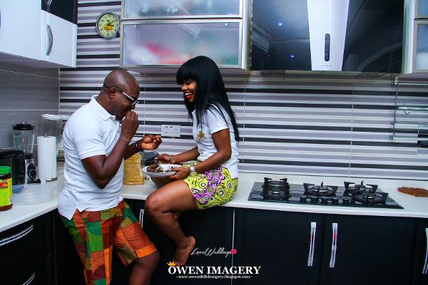 Celestine Ovia and Nancy Charles Nigerian PreWedding LoveWeddingsNG 3