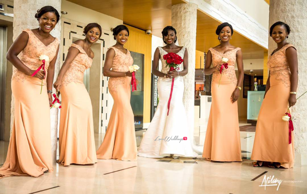 Gambian Bride and Bridesmaids Fatou and Obinna Ifedi #FOBI17 2706 Events LoveWeddingsNG
