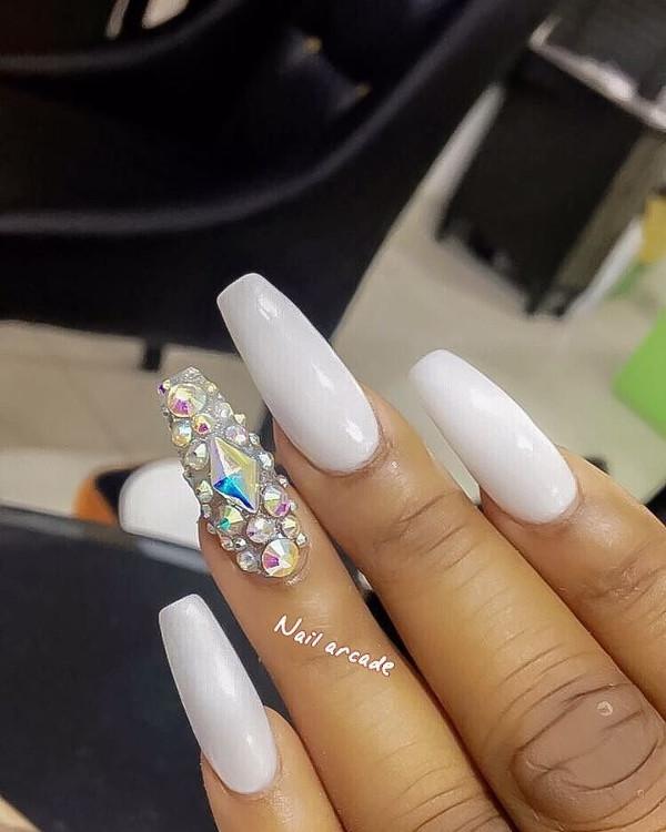 Nigerian Bridal Nail Inspiration LoveWeddingsNG 20