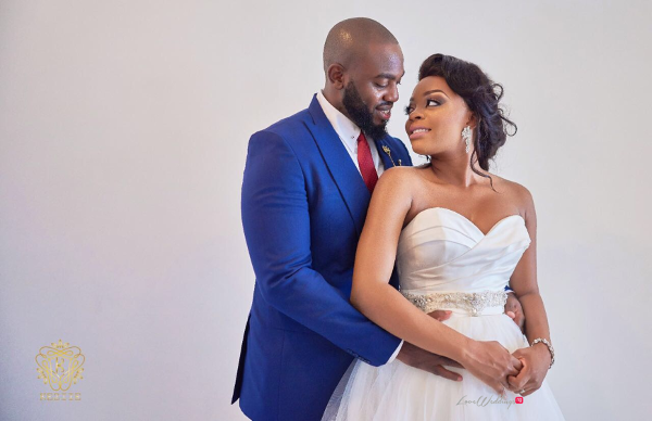 Nigerian Bride and Groom Wanni Fuga and Sam Wabara LoveWeddingsNG