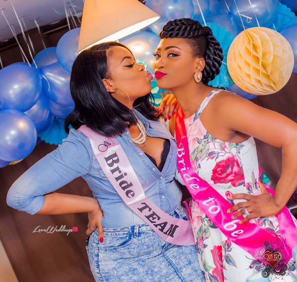 Nigerian Denim Themed Bridal Shower Adiat LoveWeddingsNG 1