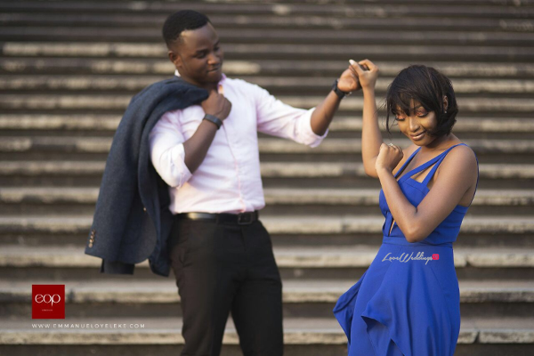 Nigerian Engagement Shoot #TKTheWedding LoveWeddingsNG 4