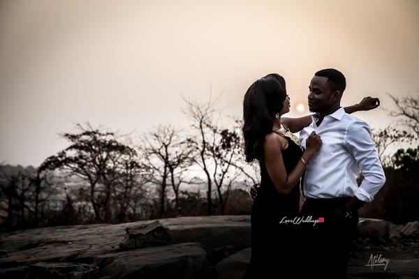 Nigerian Engagement Shoot #TKTheWedding LoveWeddingsNG 8