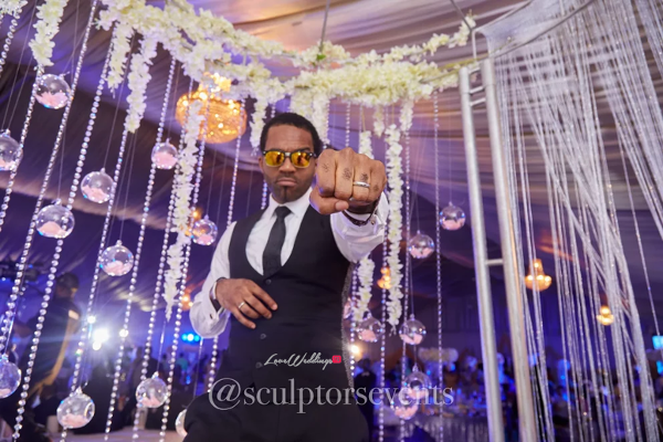 Nigerian Groom Seno and Patrick Turn Up Sculptors Events LoveWeddingsNG 2