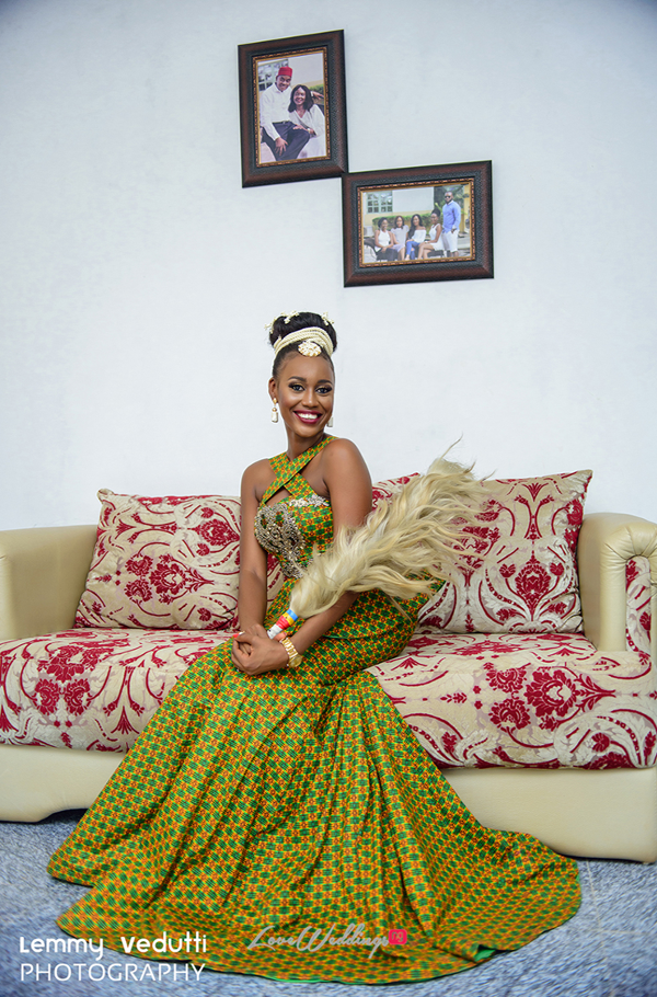 Nigerian Traditional Bride Dr. Chioma & Dr. Onyedika Lemmy Vedutti Photography LoveWeddingsNG 1