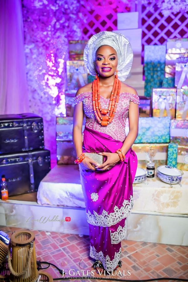 Nigerian Traditional Bride Wanni Fuga and Sam Wabara LoveWeddingsNG 1