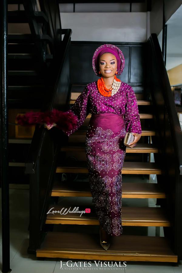 Nigerian Traditional Bride Wanni Fuga and Sam Wabara LoveWeddingsNG 3