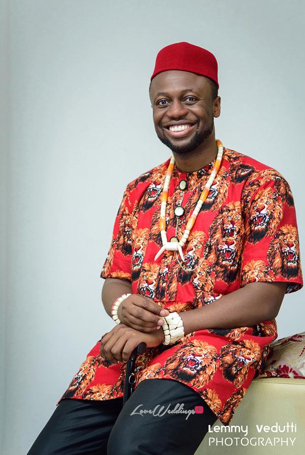 Nigerian Traditional Groom Dr. Chioma & Dr. Onyedika Lemmy Vedutti Photography LoveWeddingsNG 1