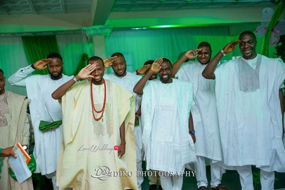 Nigerian Traditional Groom and Groomsmen Diko Photography LoveWeddingsNG