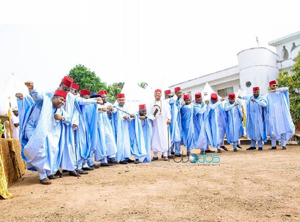 Nigerian Traditional Groom and Groomsmen Obodos Multimedia LoveWeddingsNG 1