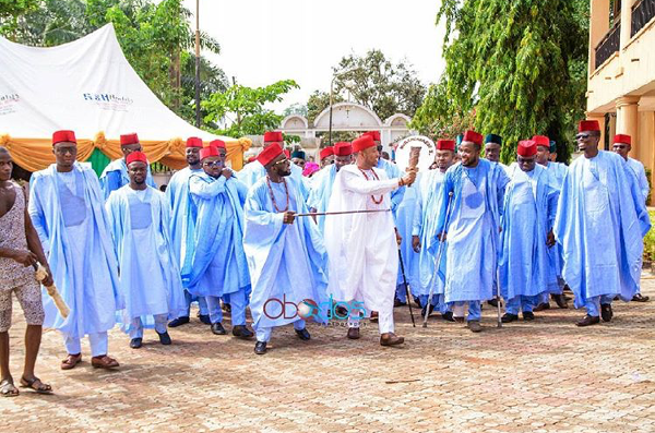 Nigerian Traditional Groom and Groomsmen Obodos Multimedia LoveWeddingsNG