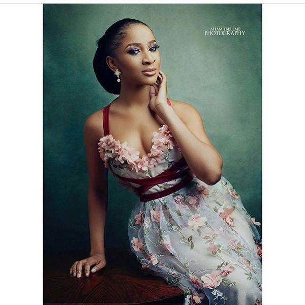 Adesua Etomi AMVCA Nigerian Wedding Guest Style Inspiration LoveWeddingsNG 1