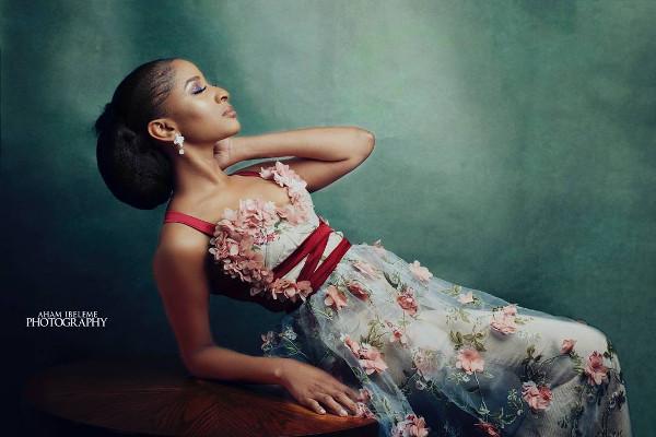 Adesua Etomi AMVCA Nigerian Wedding Guest Style Inspiration LoveWeddingsNG