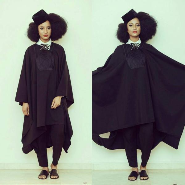 Adesua Etomi Agbada Nigerian Wedding Guest Style Inspiration LoveWeddingsNG