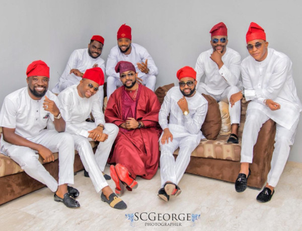 Adesua Etomi Banky W Introduction -Banky and friends LoveWeddingsNG