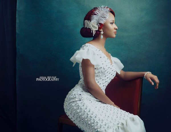 Adesua Etomi Nigerian Bridal Inspiration LoveWeddingsNG 1