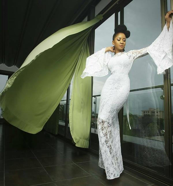 Adesua Etomi Nigerian Wedding Guest Style White Inspiration LoveWeddingsNG 2